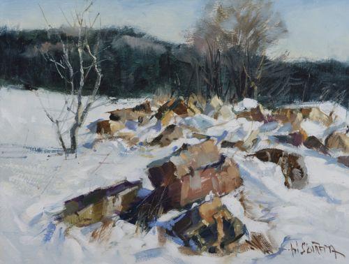 Zima s kameny