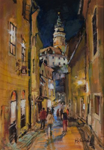 An Evening in Krumlov