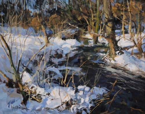 Winter near Kamenice