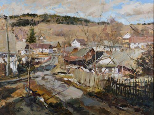 An April day in Javorek