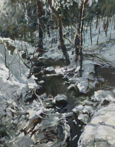 A Brook in Kamenicko