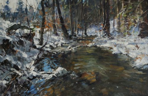 Winter on beck