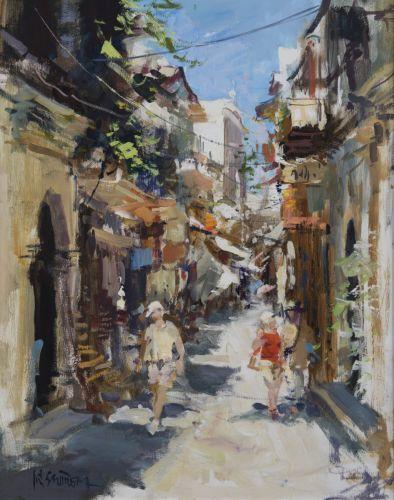 Ulička na Krétě